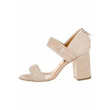 Suede Sandals