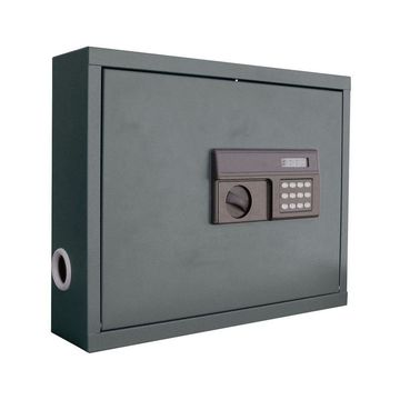 Steel Wall Mount Laptop Safe with Electronic Lock