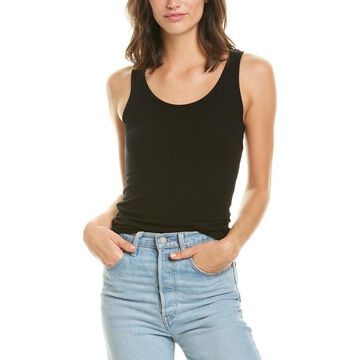 Three Dots Womens Ribbed Fitted Tank