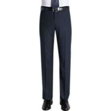 Pronto Uomo Navy Slim Fit Casual Pants