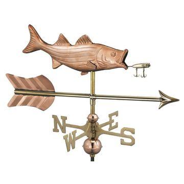 Good Directions Copper Freestanding Bass Weathervane