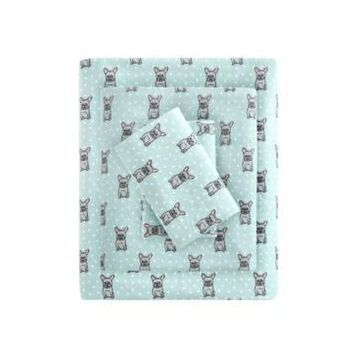 True North by Sleep Philosophy Cozy Flannel Full Cotton Printed Sheet Set