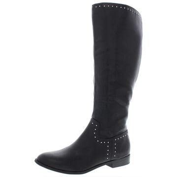 Esprit Womens Genie Faux Leather Tall Knee-High Boots