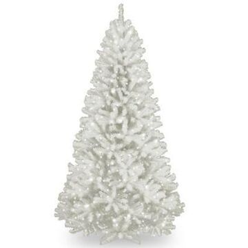 National Tree Company 9-Foot Pre-Lit North Valley White Spruce Artificial Christmas Tree