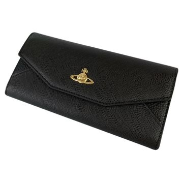 Vivienne Westwood Black Leather Wallets