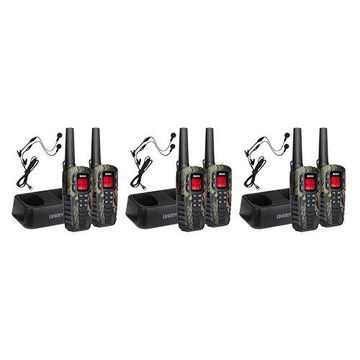 Uniden SX377-2CKHSM - 6-Pack 37-Mile 2-Way GMRS Radios