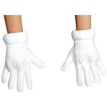 Morris Costumes Super Mario Gloves Child