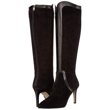 Adrienne Vittadini Womens Nalani Closed Toe Knee High Fashion Boots