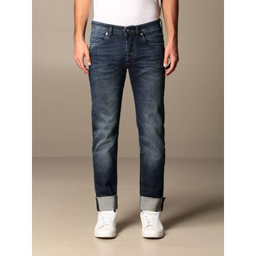 Siviglia Jeans In Used Denim Bottom 17