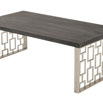 Armen Living Skyline Wood Coffee Table
