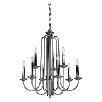 Jeremiah Lighting 40729 Avery 9-Light Chandelier