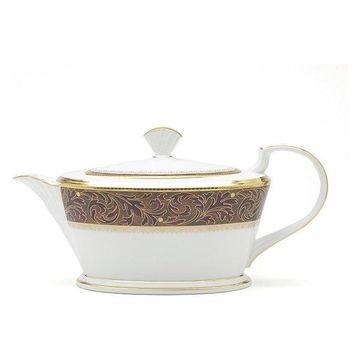 Noritake Xavier Gold Teapot