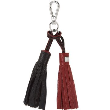 LODIS Italian Leather Purse Charm with Charging Cable