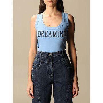 Dreaming Alberta Ferretti Cotton Tank Top