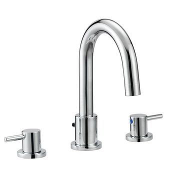 Design House 548271 Eastport 1.2 GPM Widespread Bathroom Faucet with Two Handles - Polished Chrome