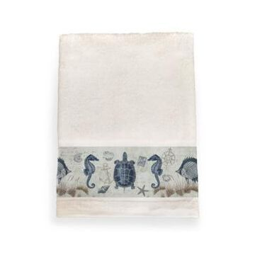 Laural Home Seaside Postcard Bath Towel Bedding