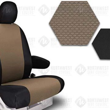 NorthWest OEM Seat Covers, 5th-Row Seat Covers in Tan, B0