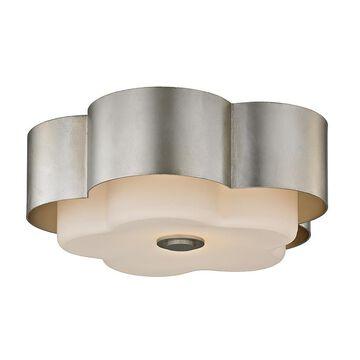 Troy Lighting Allure 13 Inch 2 Light Flush Mount Allure - C5652 - Transitional
