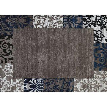 United Weavers Studio Valence Floral Rug, Blue, 2X7 Ft
