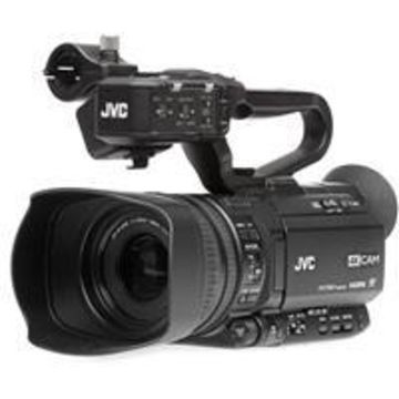 JVC GY-HM250 12.4MP 4K UHD Camcorder with FHD Live Streaming, 12x Optical Zoom