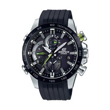 Casio Men's Edifice Chronograph Bluetooth Smartphone-link Solar Power Watch EQB-800BR-1ACF