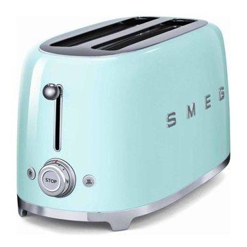 Smeg 4-Slice Toaster, Pastel Green