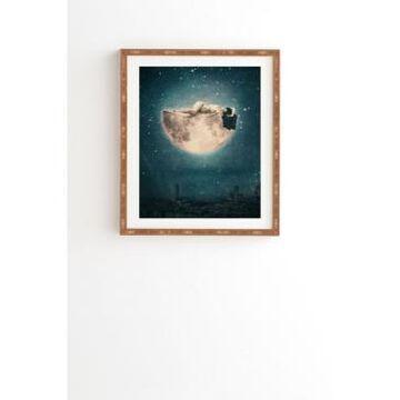 Deny Designs Moon Dream Framed Wall Art