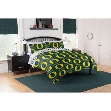Oregon Ducks 5-Piece Full Bed in a Bag Comforter Set Multi