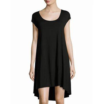 Three Dots Womens Hi-Low Tracy Easy Shift Dress