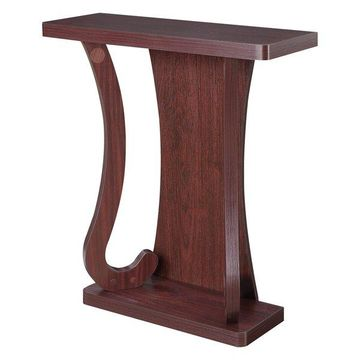 Convenience Concepts Newport Mozart Console Table, Mahogany