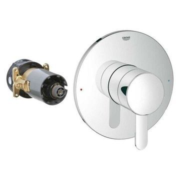 Grohe, Shower Valve Trim, Chrome, 12