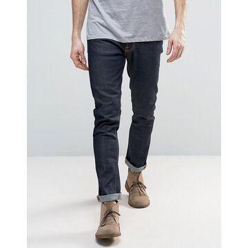 Nudie Jeans Co Lean Dean slim tapered fit jeans in 16 dips blue