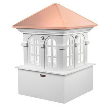 Good Directions Smithsonian Collection Chesapeake 36-Inch Cupola in White/Copper