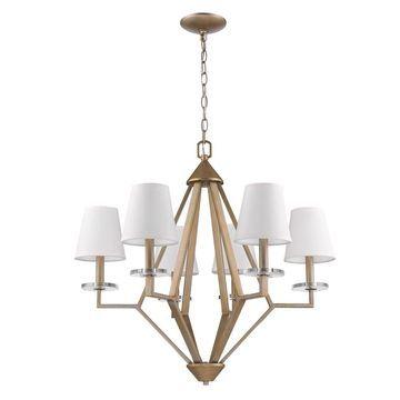 Acclaim Lighting Easton 6-Light Chandelier (Gold)