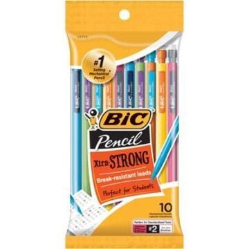BIC Xtra-Strong 0.9mm Multicolored Mechanical Pencils, 6 Pack