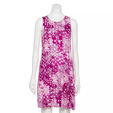 Petite Sonoma Goods For Life Twist-Back Sleeveless Swing Dress