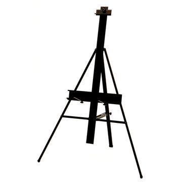 Offex Black Aluminum Lightweight Height Adjustable Premier Presentation Art Easel