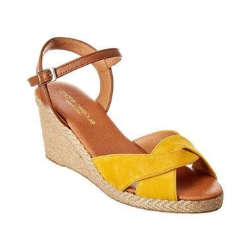 Andre Assous Ellie Suede Wedge Sandal