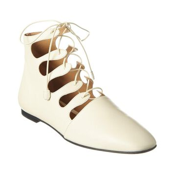 The Row Dimitri Leather Flat