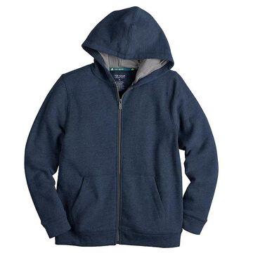 Boys 8-20 Tek Gear Ultra Soft Full-Zip Hoodie, Boy's, Size: Medium HUSKY, Blue