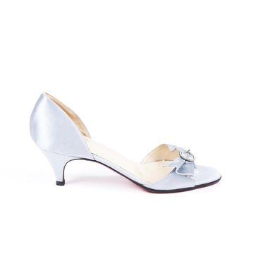 Christian Louboutin Blue Cloth Sandals