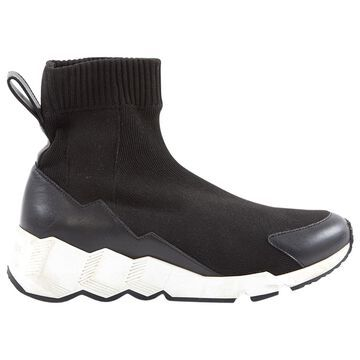 Pierre Hardy Black Cloth Trainers