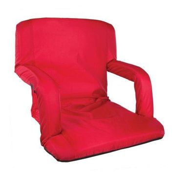 Stansport Multi Fold Padded Stadium Seat with Arms