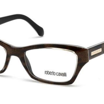 Roberto Cavalli RC 758 SONEVA 059 Womenas Glasses Brown Size 52 - Free Lenses - HSA/FSA Insurance - Blue Light Block Available