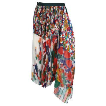 Sacai Sacai Pleated Skirt