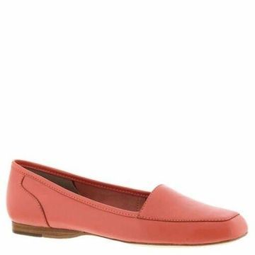 ARRAY Womens Freedom Leather Square Toe Loafers