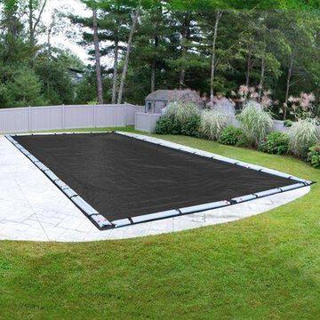Robelle 10-Year Mesh Rectangular Winter Pool Cover, 16 x 36 ft. Pool