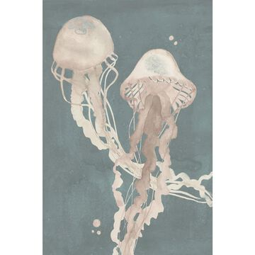 Marmont Hill - Handmade Jellyfish Dance I Print on Wrapped Canvas