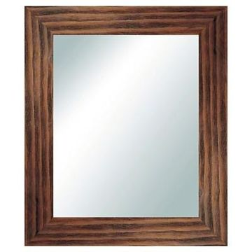 Rectangle Reclaimed Wood Vanity Decorative Wall Mirror Natural - PTM Images