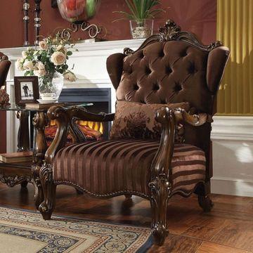 Benzara Versailles Chair with Pillow